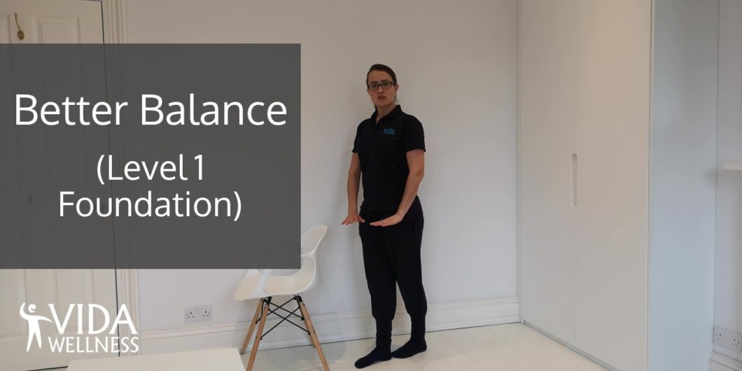 Image Better Balance Level 1 home exercise video