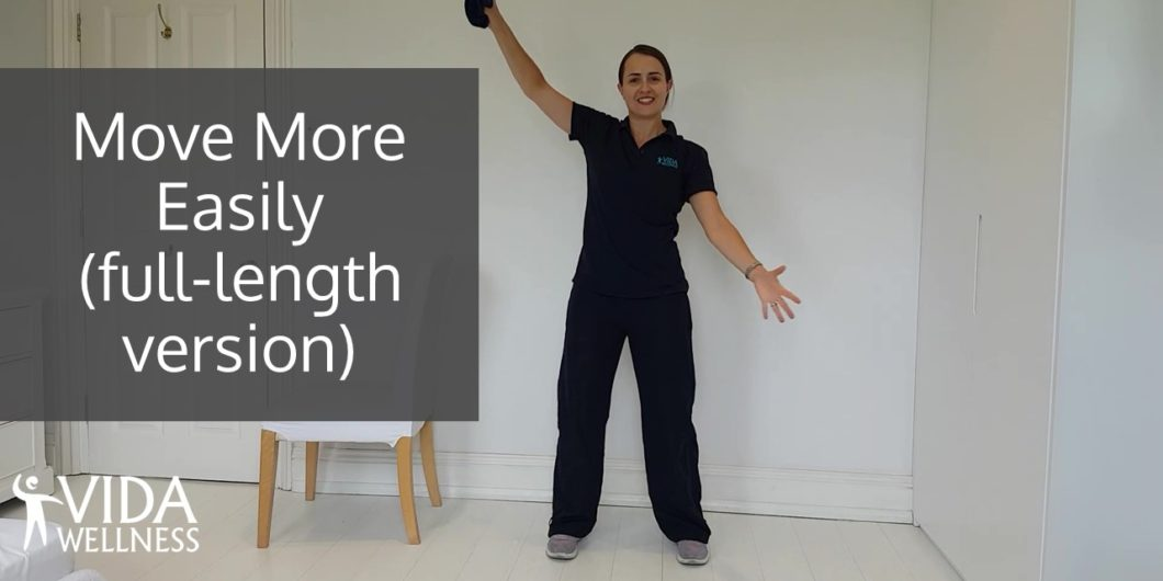 Image of Move More Easily full length home exercise video