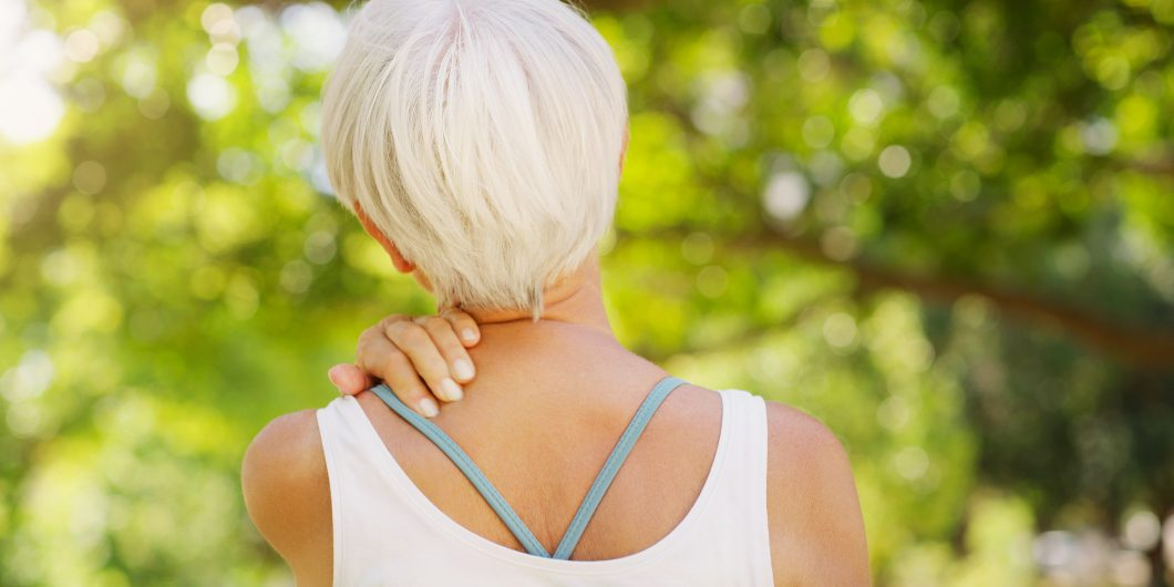 Stiff neck relief without painkillers