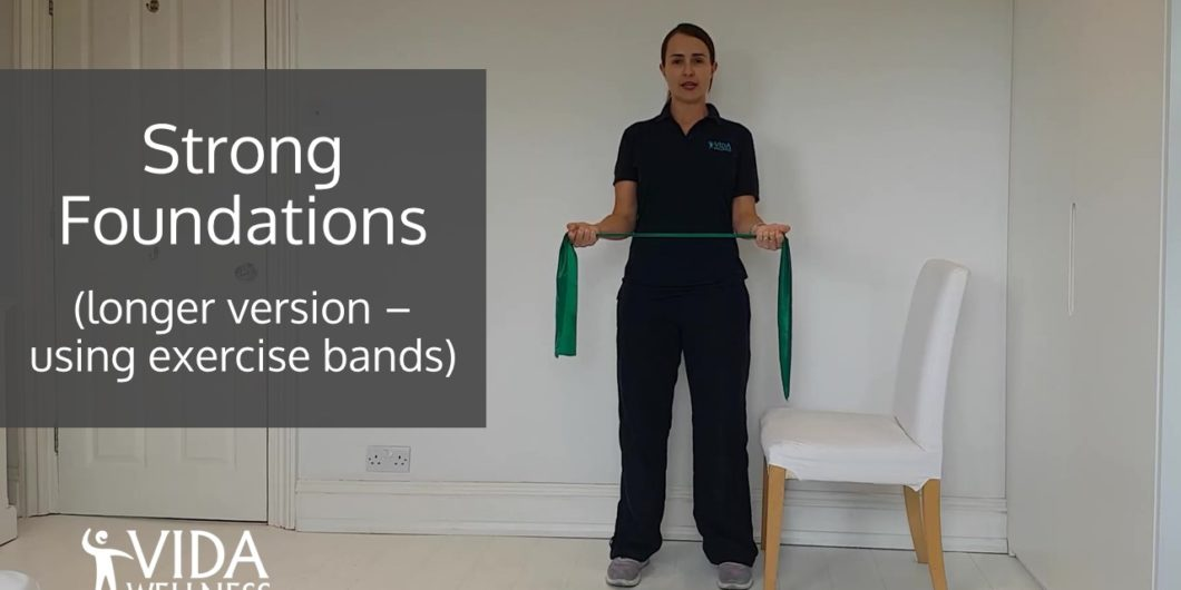 image of Strong Foundations full length home exercise video